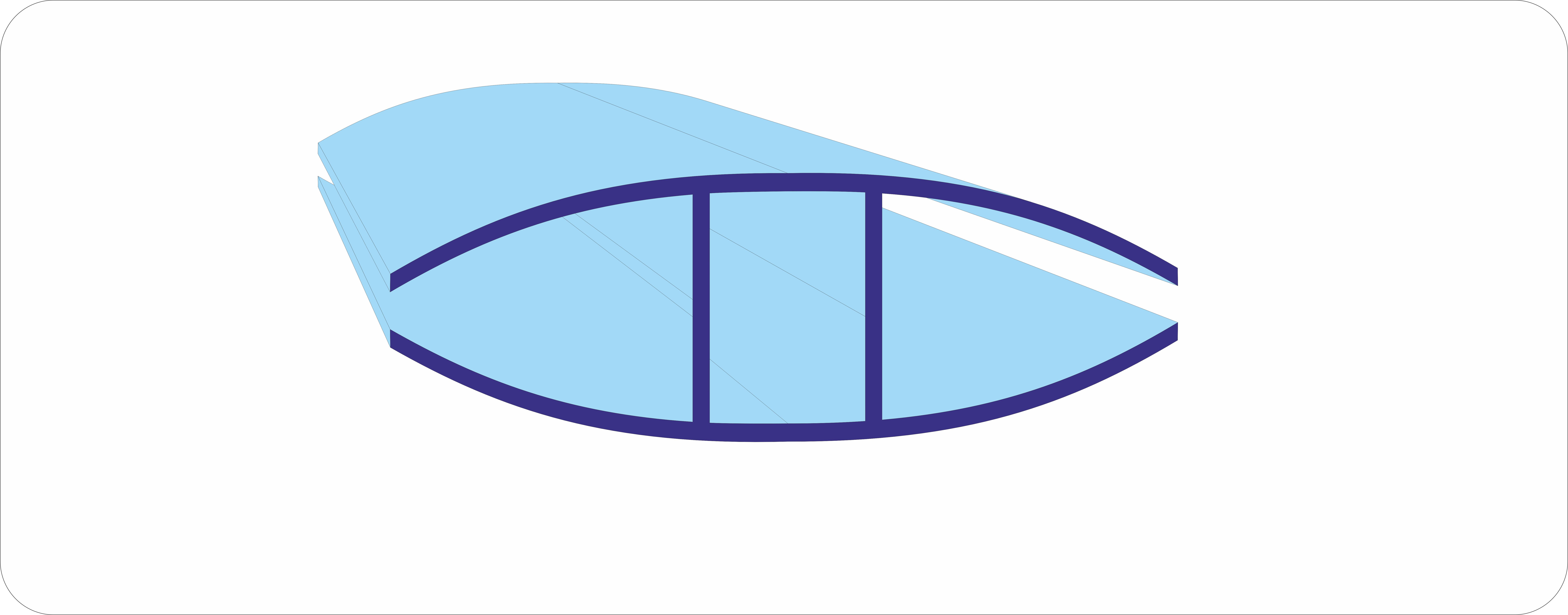 Соединительный неразъемный профиль из поликарбоната