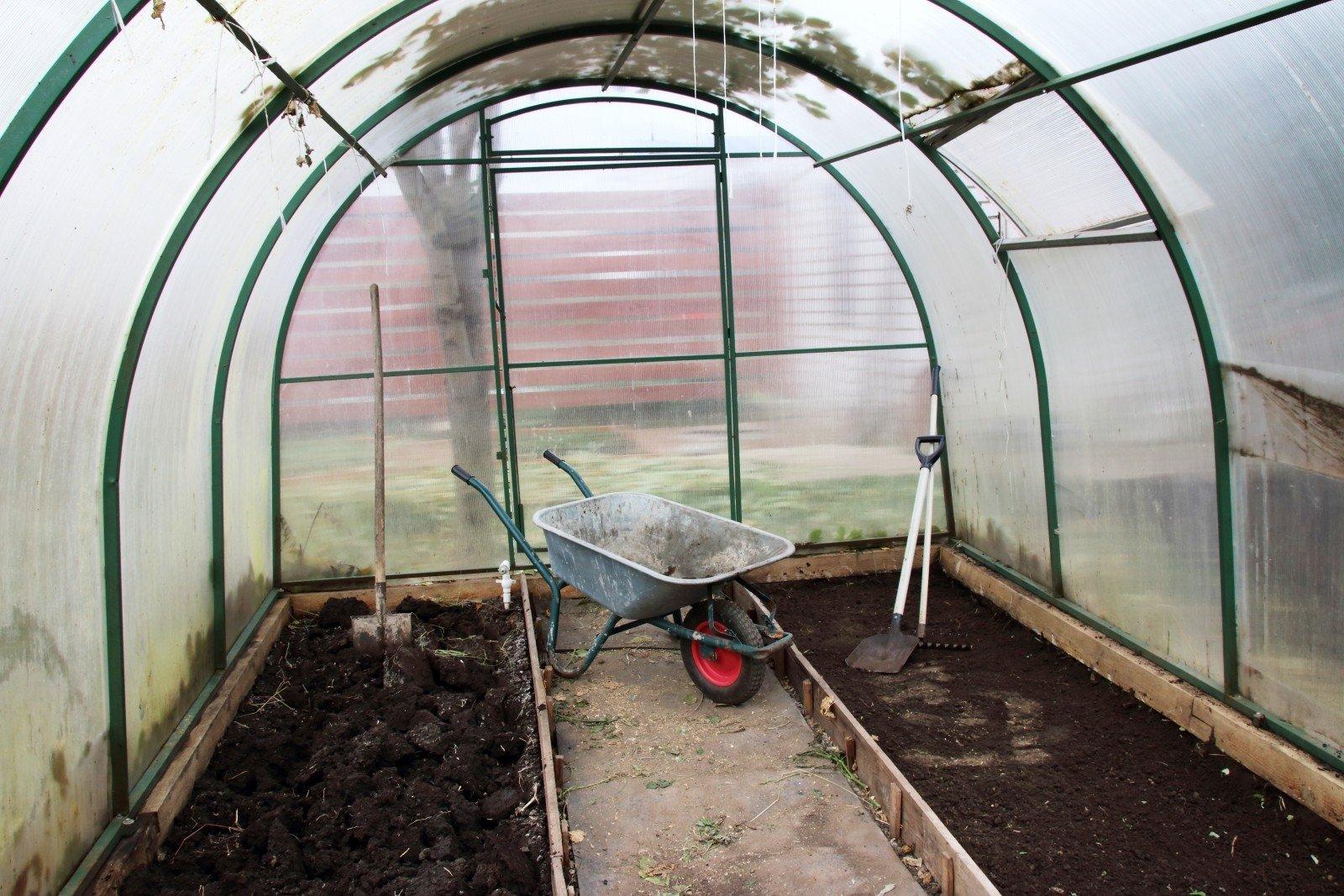 Подготовка теплицы из поликарбоната к зиме